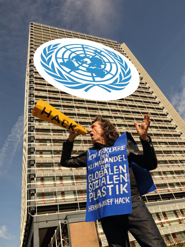 Hack fordert Teilnahme an UN-Klimakonferenz